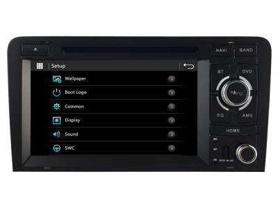AUTORADIO ANDROÏD GPS BLUETOOTH AUDI A4/S4/RS4 GRAND ÉCRAN + CAMERA DE RECUL