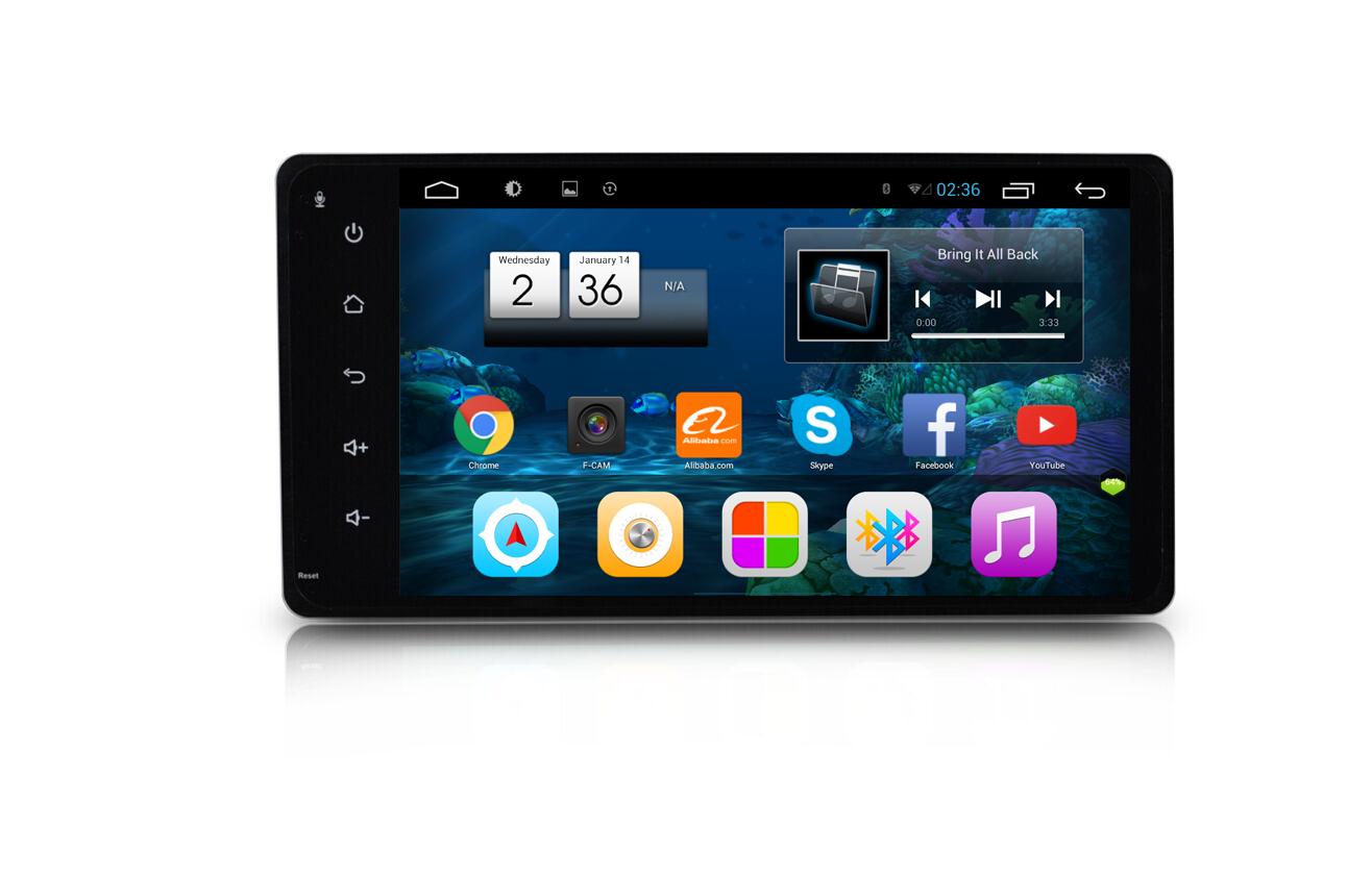 Autoradio gps bluetooth android audi mitsubishi outlander asx l camera de recul commande au volant ipod tv dvbt 3g 4g pas cher wifi poste usb sd tnt 2 din tactile canbus mirror lin