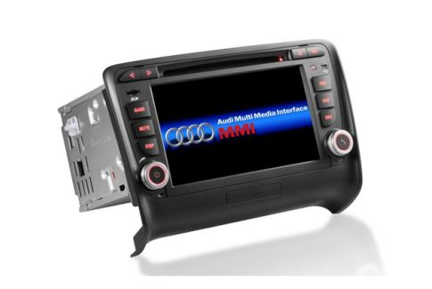 Autoradio gps bluetooth android audi tt ttrs camera de recul commande au volant ipod tv dvbt 3g 4g pas cher wifi poste usb sd tnt double 2 din tactile canbus mirror link www gps na