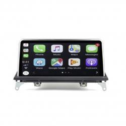 Autoradio Android tactile GPS Bluetooth BMW X5 E70 et BMW X6 E71 2007 à 2014 + caméra de recul