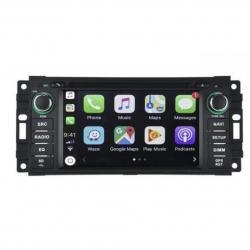 Autoradio Android tactile GPS Bluetooth Jeep Grand Cherokee,Commander, Liberty, Patriot et Wrangler + caméra de recul