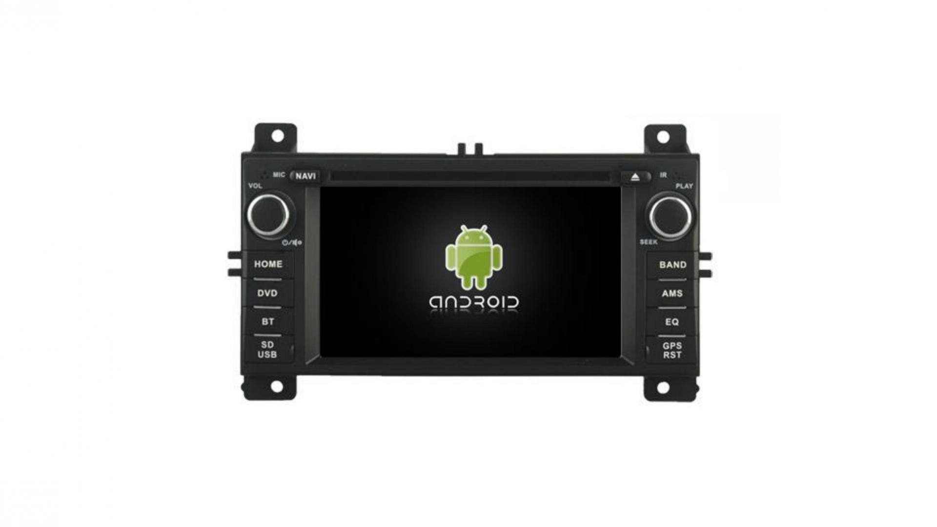 Autoradio gps bluetooth android auto carplay camera de recul jeep grand grand cherokee commander liberty patriot wrangler