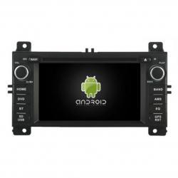 Autoradio Android tactile GPS Bluetooth Jeep Grand Cherokee depuis 2011 + caméra de recul