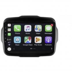 Autoradio GPS bluetooth Android full tactile Jeep Renegade à partir de 2016 + caméra de recul