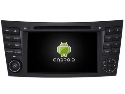AUTORADIO ANDROÏD GPS BLUETOOTH MERCEDES CLASSE E W211 et CLS W219 + CAMERA DE RECUL