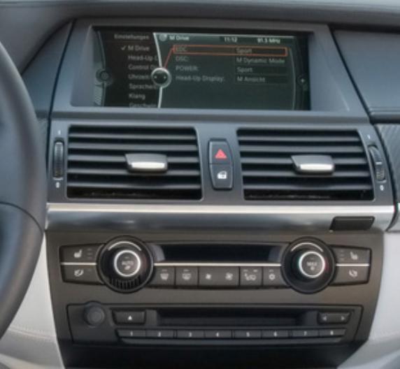 Autoradio gps bluetooth android bluetooth bmw x5 e70 et x6 e71 camera de recul 1