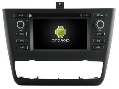 AUTORADIO ANDROÏD GPS BLUETOOTH BMW SERIE 1 E81 E82 E87 E88 + CAMERA DE RECUL
