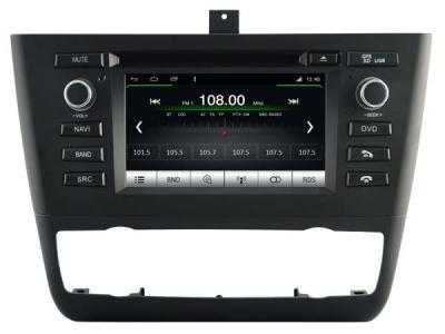 AUTORADIO GPS BLUETOOTH BMW SERIE 1 E81 E82 E87 E88 + CAMERA DE RECUL