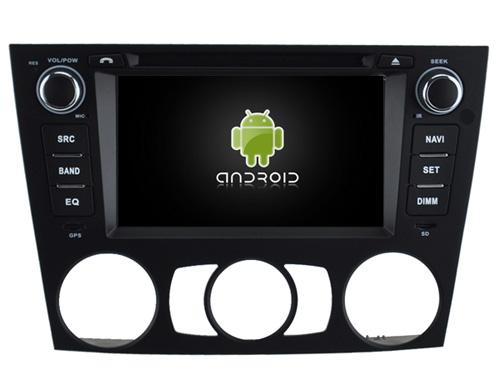 Autoradio gps bluetooth android bmw serie 3 e90 e91 e92 e93 2005 a 2012 clim auto manuel camera de recul commande au volant ipod tv dvbt 3g 4g pas cher wifi poste usb sd tnt double