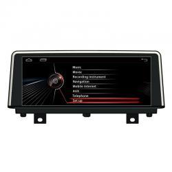Autoradio Android tactile GPS Bluetooth BMW Série 3 F30 et BMW Série 4 de 2012 à 2020 + caméra de recul