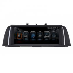 Autoradio Android full tactile GPS Bluetooth BMW Série 5 F10 de 2011 à 2017 + caméra de recul