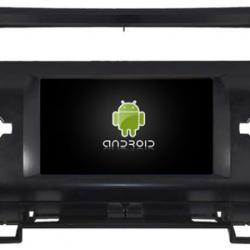 Autoradio Android full tactile GPS Bluetooth Citroën C4 de 2004 à 2011 + camera de recul