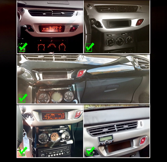 Autoradio gps bluetooth android citroen ds3 ds4 ds5 camera de recul commande au volant ipod tv dvbt 3g 4g pas cher wifi poste usb sd tnt 2 din tactile canbus mirror link iphone sam