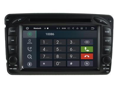 AUTORADIO GPS BLUETOOTH MERCEDES CLASSE C W203 PHASE 1 CLASSE G CLK  VITO VIANO VANEO + CAMERA DE RECUL