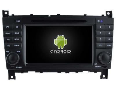 AUTORADIO ANDROÏD GPS BLUETOOTH MERCEDES CLASSE C W203 PHASE 2 / CLASSE G / CLC  + CAMERA DE RECUL