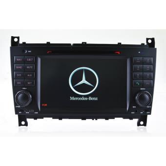 AUTORADIO GPS BLUETOOTH MERCEDES CLASSE C W203 PHASE 2 CLASSE G CLC + CAMERA DE RECUL