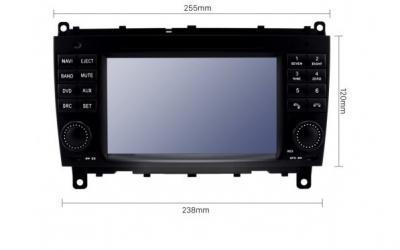 AUTORADIO GPS BLUETOOTH MERCEDES CLS W219 et CLK  W209 + CAMERA DE RECUL