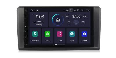 AUTORADIO ANDROÏD FULL TACTILE GPS BLUETOOTH ML W164, GL X164 2005 à 2011 + CAMERA DE RECUL