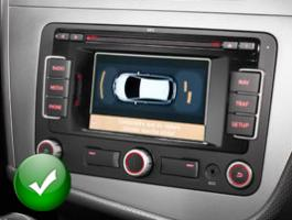 Autoradio gps bluetooth android seat leon camera de recul commande au volant ipod tv dvbt 3g 4g pas cher wifi poste usb sd tnt double 2 din tactile canbus mirror link iphone samsun