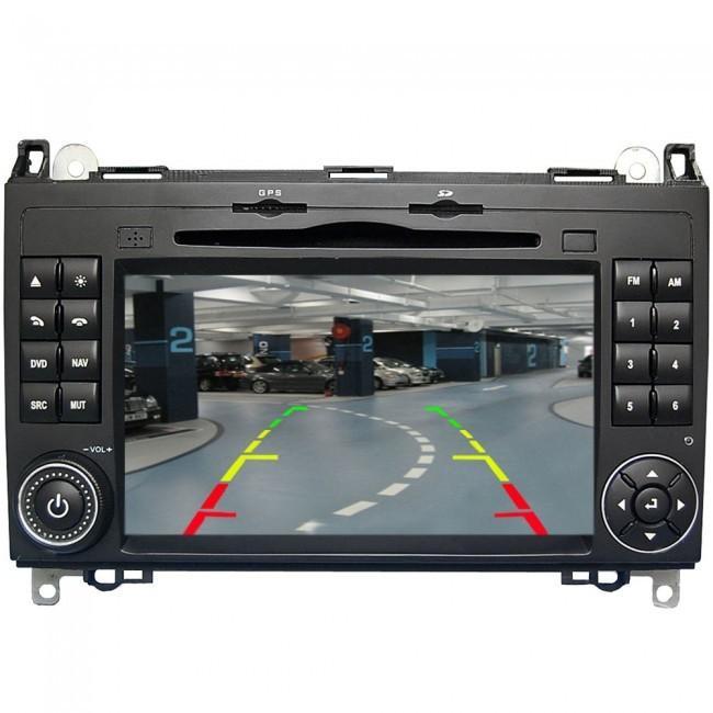 Autoradio gps bluetooth android volkswagen crafter lt3 camera de recul camera de recul commande au volant ipod tv dvbt 3g 4g pas cher wifi poste usb sd tnt double 2 1