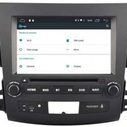 Autoradio Android tactile GPS Bluetooth Citroën C-Crosser de 2007 à 2013 + caméra de recul