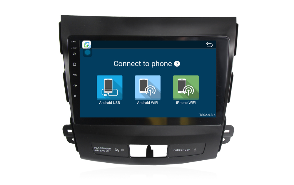 Autoradio gps bluetooth citroen c crosser android camera de recul commande au volant ipod tv dvbt 3g 4g pas cher wifi poste usb sd tnt double 2 din canbus iphone samsung www gps na