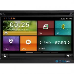 Autoradio gps bluetooth colt citroen c crosser android camera de recul commande au volant ipod tv dvbt 3g 4g pas cher wifi poste usb sd tnt double 2 din canbus iphone samsung www g