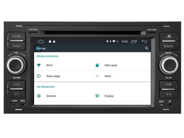 Autoradio gps bluetooth ford astra corsa antara meriva vectra vivaro android camera de recul commande au volant ipod tv dvbt 3g 4g pas cher wifi poste usb sd tnt double 2 din canbu