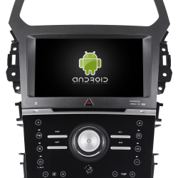 AUTORADIO ANDROID GPS BLUETOOTH FORD EXPLORER 2012 à 2015 + CAMERA DE RECUL