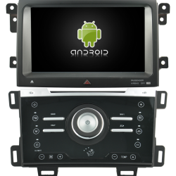 AUTORADIO ANDROID GPS BLUETOOTH FORD EXPLORER EDGE 2013 à 2015 CLIM MANUEL + CAMERA DE RECUL