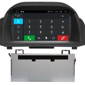 Autoradio gps bluetooth ford fiesta 2014 android camera de recul commande au volant ipod tv dvbt 3g 4g pas cher wifi poste usb sd tnt double 2 din canbus iphone samsung www gps nav