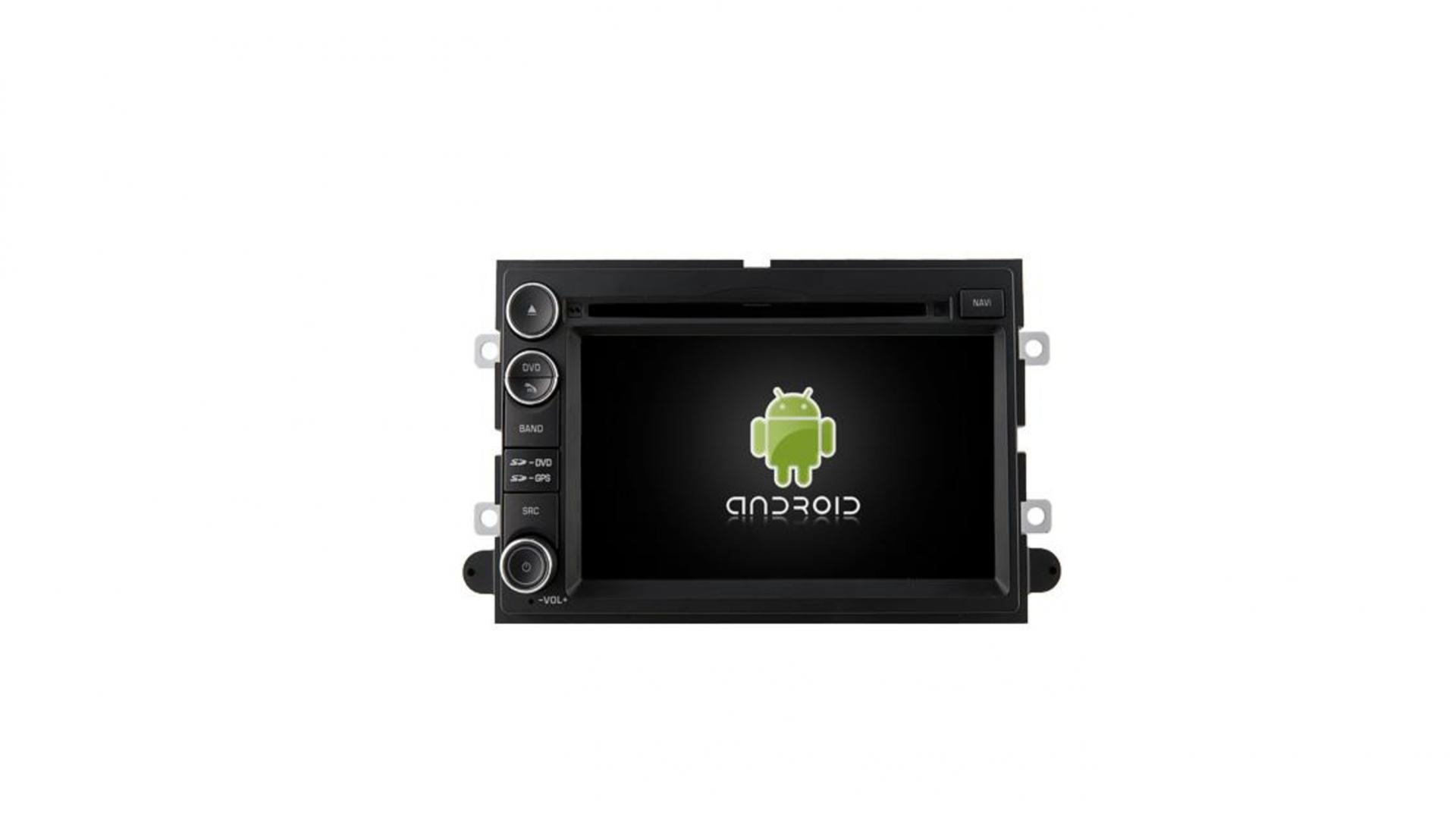 Autoradio gps bluetooth ford mustang explorer edge fusion focus android camera de recul commande au volant ipod tv dvbt 3g 4g pas cher wifi poste usb sd tnt double 2 din canbus iph