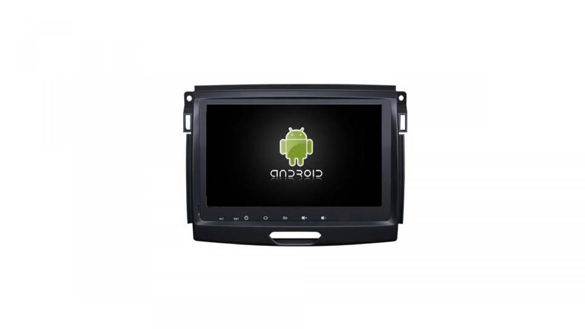 Autoradio gps bluetooth ford ranger android auto carplay camera de recul commande au volant 1