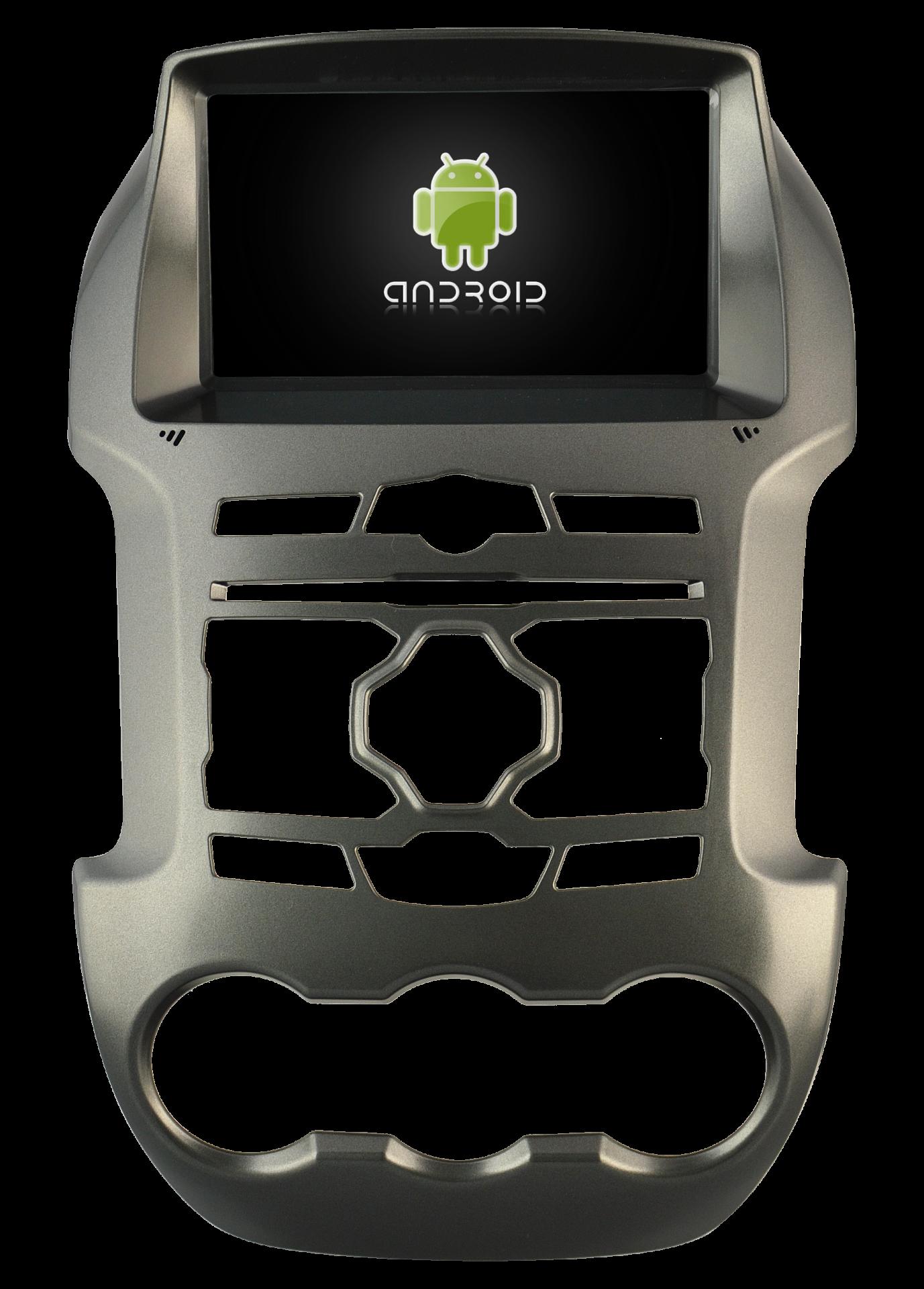 Autoradio gps bluetooth ford ranger android camera de recul commande au volant ipod tv dvbt 3g 4g pas cher wifi poste usb sd tnt double 2 din canbus iphone samsung www gps navigati