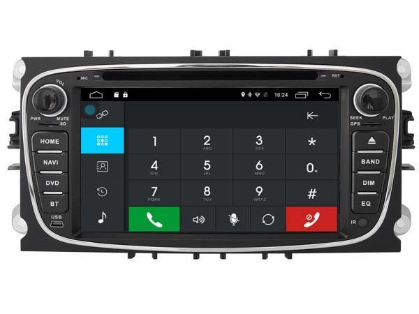 Autoradio gps bluetooth ford s max galaxy mondeo focus android camera de recul commande au volant ipod tv dvbt 3g 4g pas cher wifi poste usb sd tnt double 2 din canbus iphone samsu