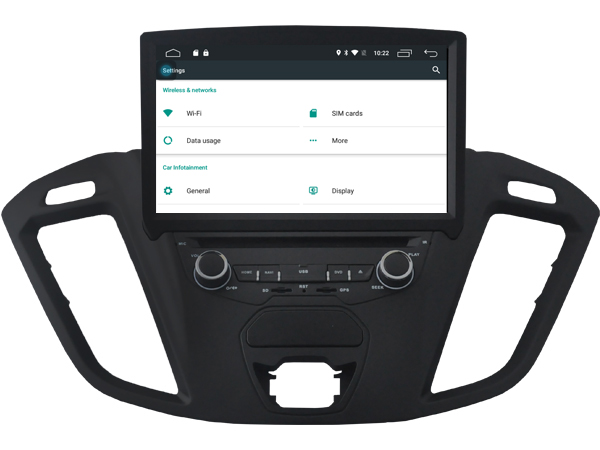 Autoradio gps bluetooth ford tourneo android camera de recul commande au volant ipod tv dvbt 3g 4g pas cher wifi poste usb sd tnt double 2 din canbus iphone samsung www gps navigat