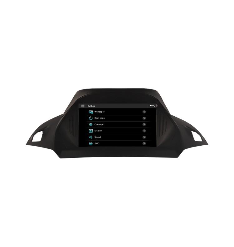 Autoradio gps bluetooth ford transit kuga c max s max fiesta focus fusion android camera de recul commande au volant ipod tv dvbt 3g 4g pas cher wifi poste usb sd tnt double 2 din