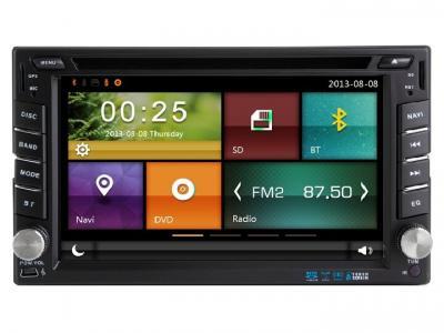 AUTORADIO GPS BLUETOOTH NISSAN Cube, Micra, Note, X-Trail, Qashqai, Pathfinder, Navara, Juke, Patrol + CAMERA DE RECUL