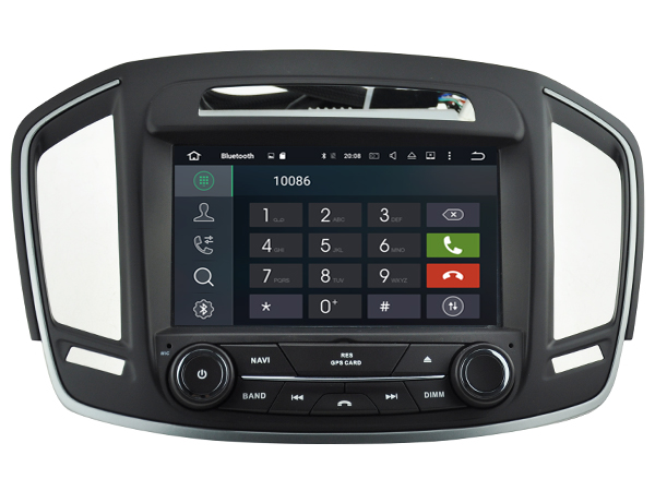 Autoradio gps bluetooth opel insignia android camera de recul commande au volant ipod tv dvbt 3g 4g pas cher wifi poste usb sd tnt double 2 din canbus iphone samsung www gps naviga