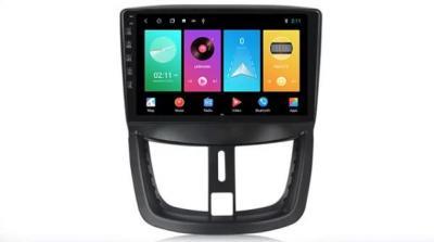 AUTORADIO ANDROÏD GPS BLUETOOTH PEUGEOT 206+, 207, 207 CC, 207 SW + CAMERA DE RECUL