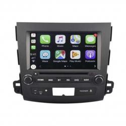 Autoradio Android tactile GPS Bluetooth Peugeot 4007 de 2007 à 2012 + caméra de recul