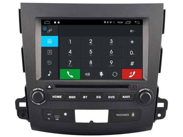 Autoradio gps bluetooth peugeot 4007 android camera de recul commande au volant ipod tv dvbt 3g 4g pas cher wifi poste usb sd tnt double 2 din canbus iphone samsung www gps navigat