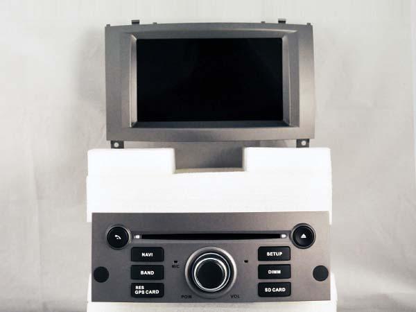 autoradio andro d gps bluetooth peugeot 407 camera de recul. Black Bedroom Furniture Sets. Home Design Ideas