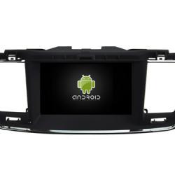Autoradio Android full tactile GPS Bluetooth Peugeot 508 + caméra de recul