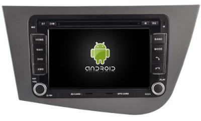 AUTORADIO ANDROID GPS BLUETOOTH SEAT ALTEA, LEON + CAMERA DE RECUL