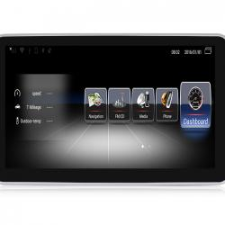 Autoradio Android tactile GPS Bluetooth Mercedes Classe SL W230 de 2013 à 2016 + caméra de recul