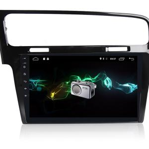 Autoradio gps bluetooth volkswagen golf 7 android camera de recul commande au volant ipod tv dvbt 3g 4g pas cher wifi poste usb sd tnt double 2 din vw canbus iphone samsung www gps