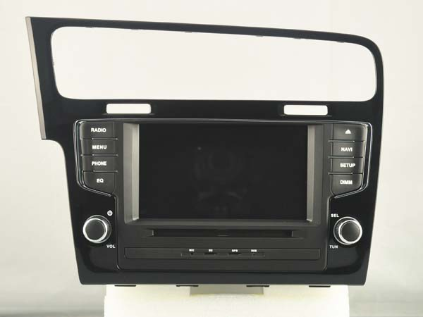 autoradio andro d gps bluetooth vw golf 7 camera de recul. Black Bedroom Furniture Sets. Home Design Ideas