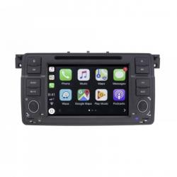 Autoradio Android tactile GPS Bluetooth BMW Série 3 E46 et M3 1998-2007 + caméra de recul