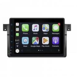 Autoradio Android full tactile GPS Bluetooth BMW Série 3 E46 et M3 1998-2007 + caméra de recul
